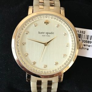 KATE SPADE ♠️ NWT Ladies Gold Watch